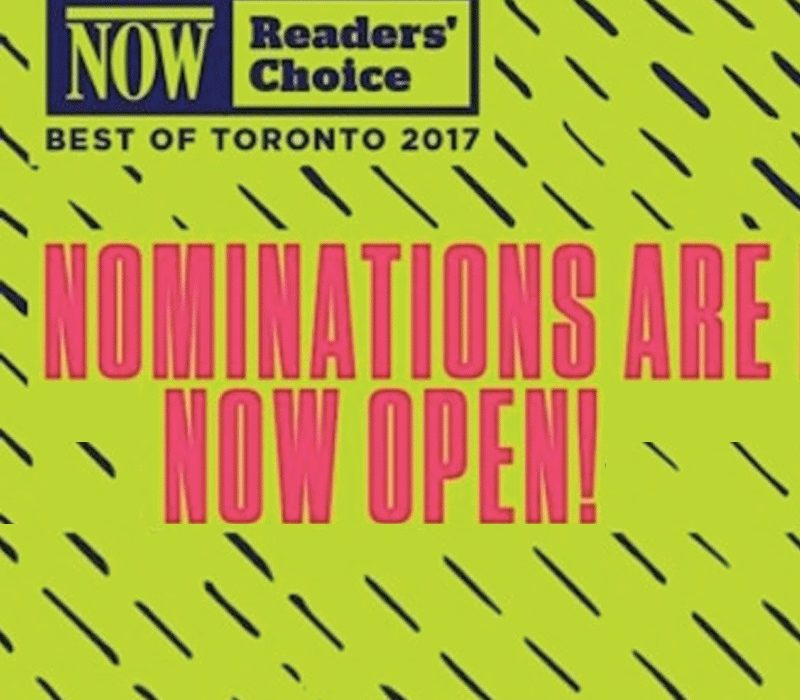 NOW Reader's Choice Awards