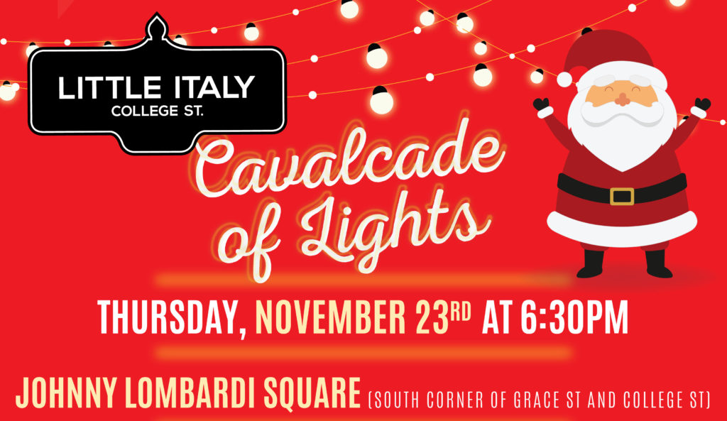 you are invited to celebrate our neighbourhoods ofcial angel lighting ceremony revel in live holiday entertainment spectacular sparkling lighting - How Does Italy Celebrate Christmas