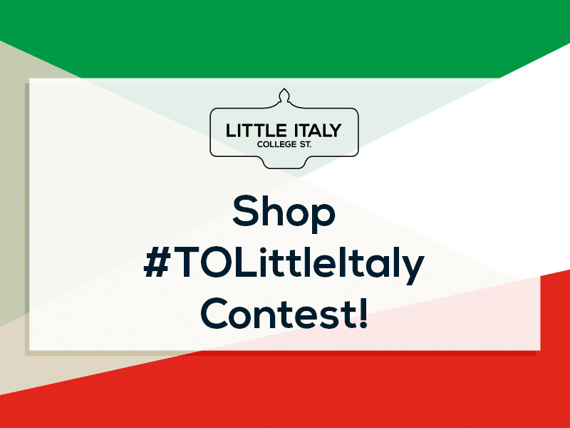 February Shop #TOLittleItaly Contest